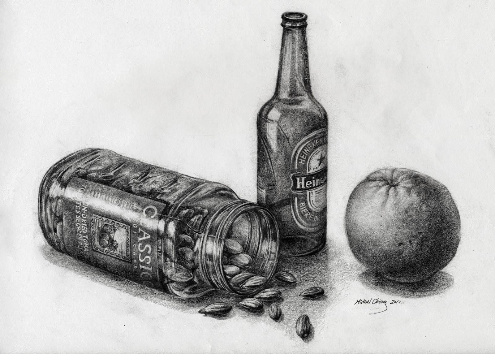 Scribble Drawing Still Life : Drawings drawing still life