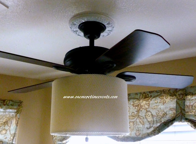 Ceiling Fan Drum Light e More Time Events