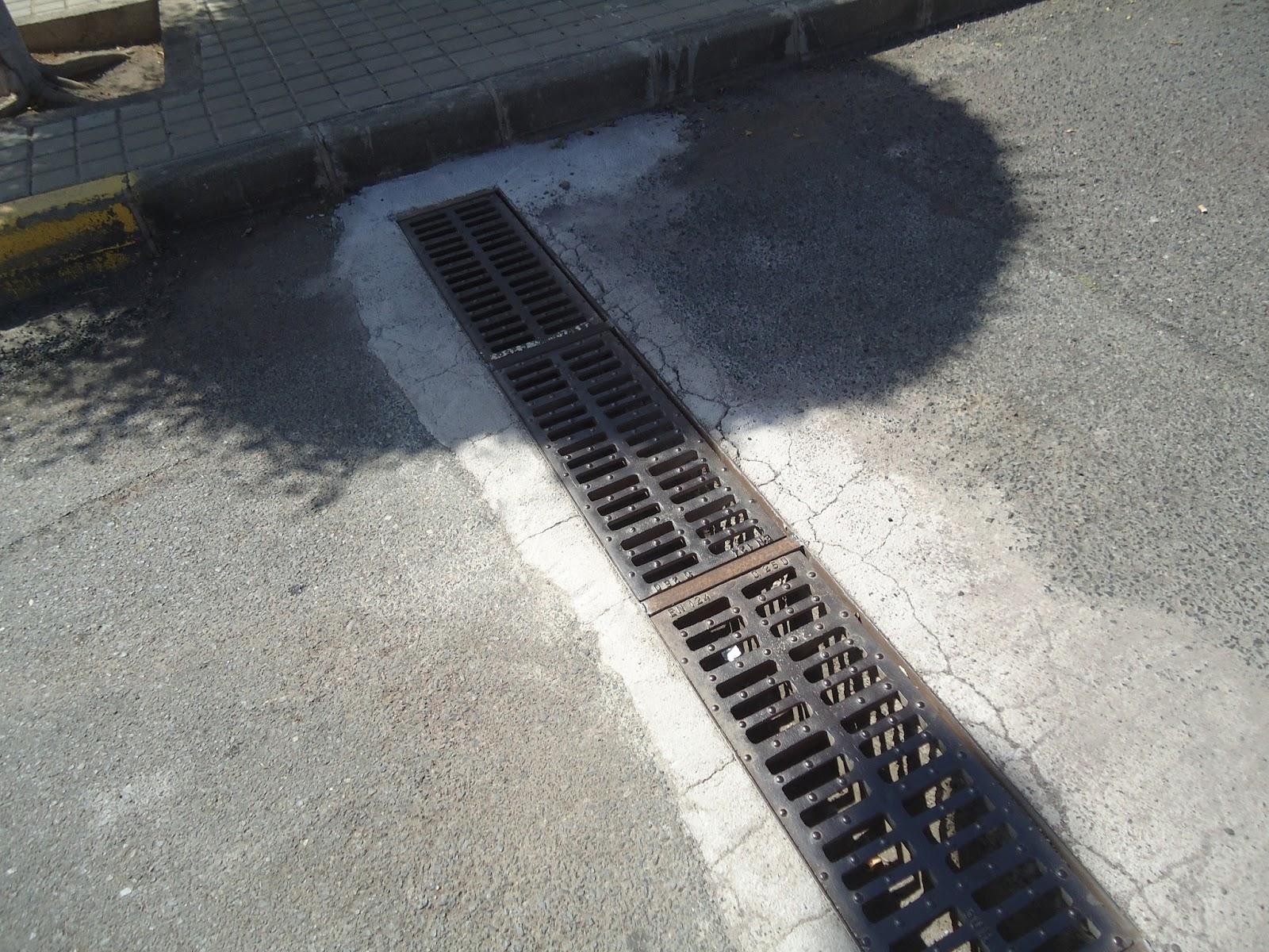 Telde habla caracol alto rejillas para agua pluviales - Canaleta de desague ...