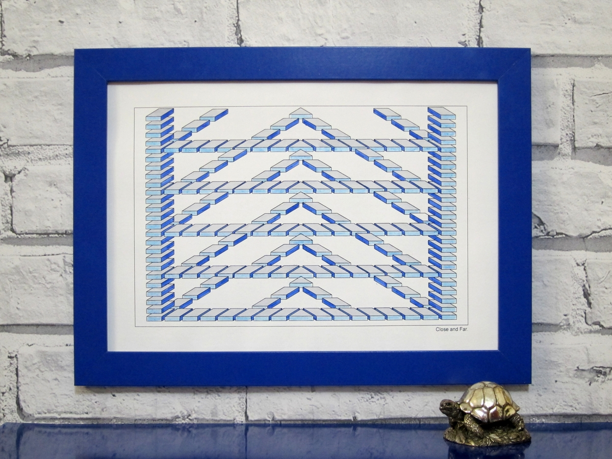 06-Framed-Drawing-Designstack-Optical-Illusions-and-Impossible-3D-Coloring-Collection-www-designstack-co