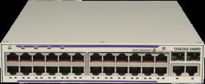 Базовая настройка Alcatel OmniSwitch 6250