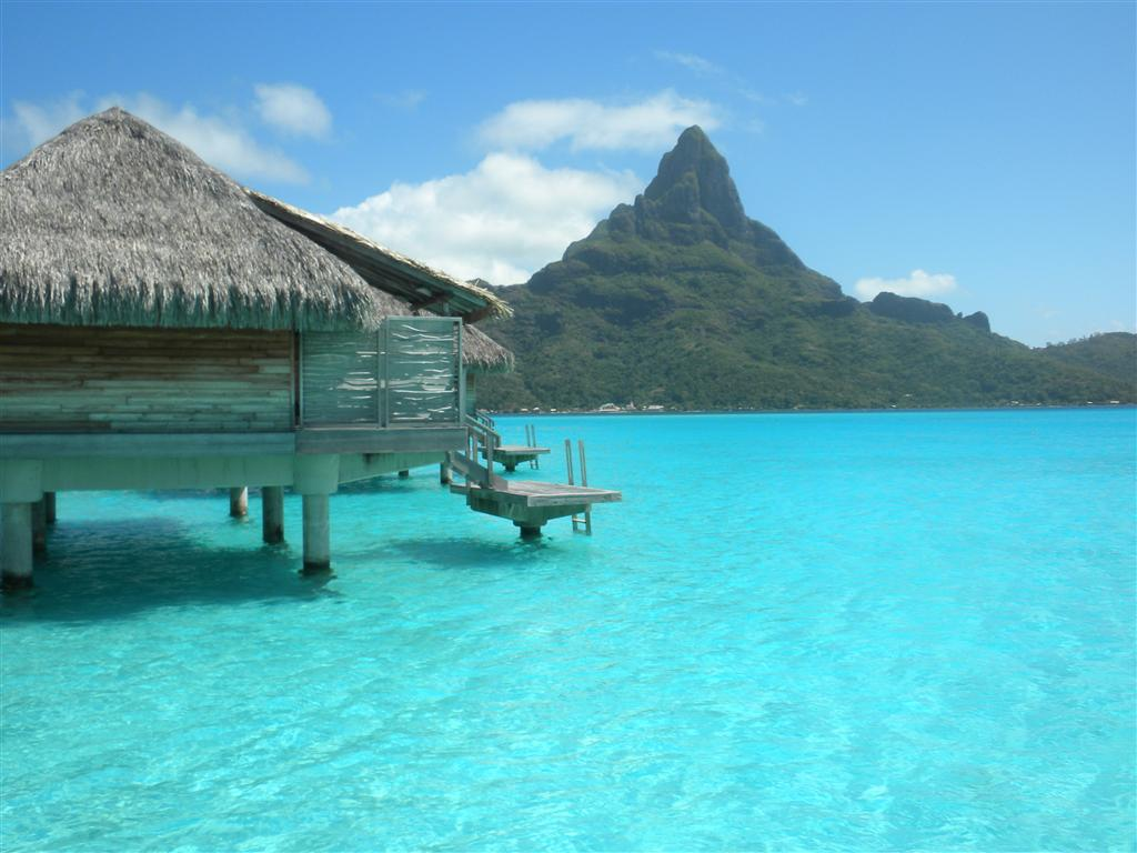 Everyday delights tahitian honeymoon day 7 bora bora Overwater bungalows fiji