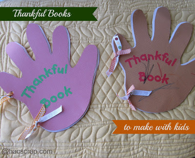 Handprint Thankful Books