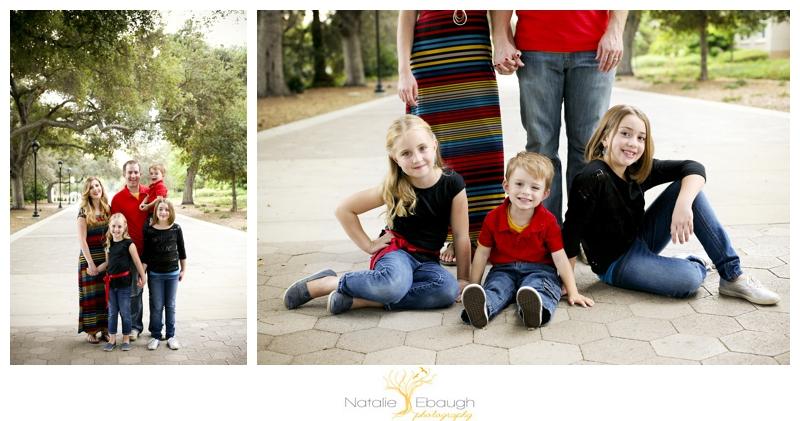 Claremont family portraits