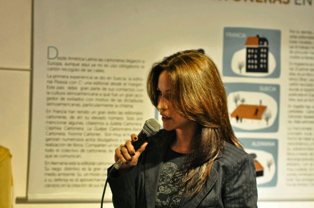 Lectura en la Feria del Libro Córdoba 2014