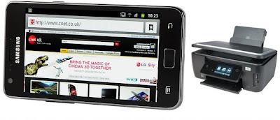 Как распечатать с телефона Samsung Galaxy SII