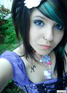 Innocent/Cute Emo girl