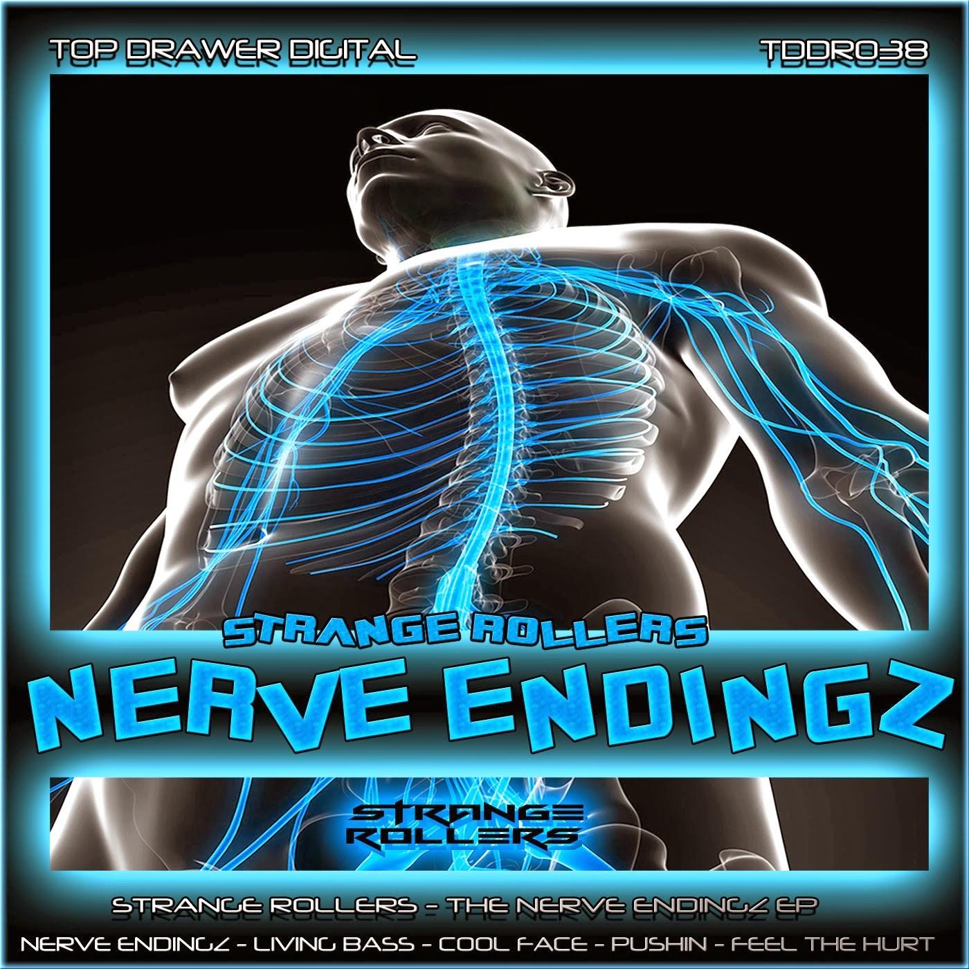 Strange Rollers - The Nerve EndingZ EP
