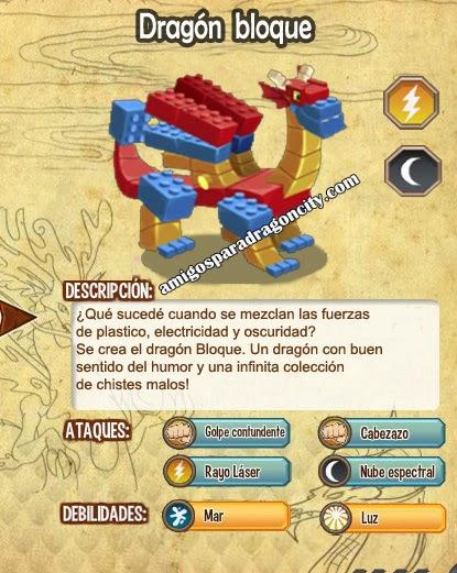 imagen del dragon bloque y sus caracteristicas