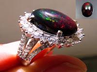 Pesona Batu Black Opal dan Kalimaya