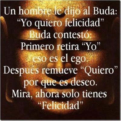 La felicidad según el Buda