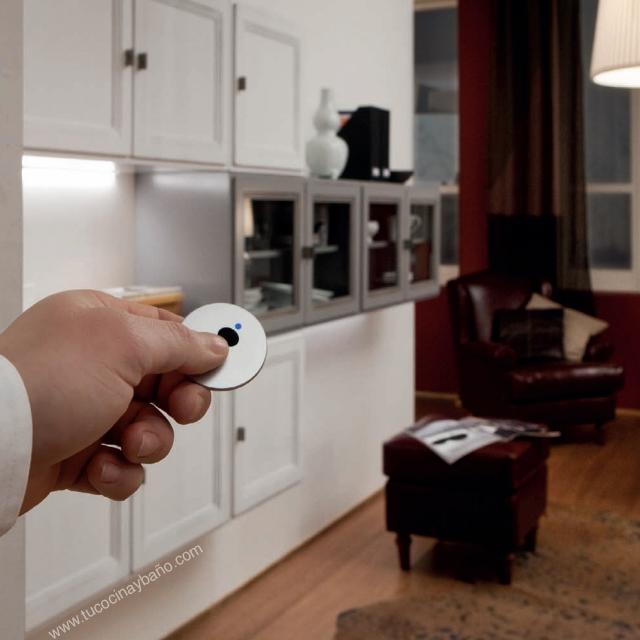 mando distancia iluminacion cocina enchufe lampara