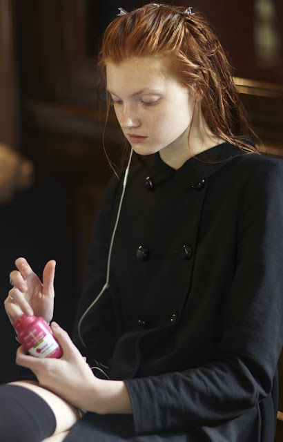 Bourjois Magic Nail Polish Remover Backstage at London Fashion Week