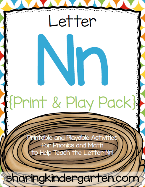 http://www.teacherspayteachers.com/Product/Letter-Nn-Print-Play-Pack-504450