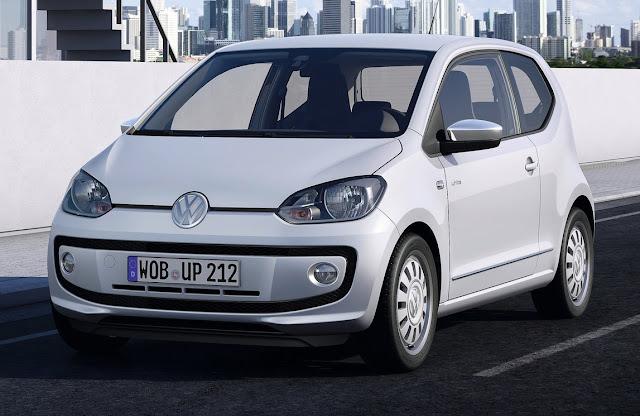 Volkswagen Up City Car Europe