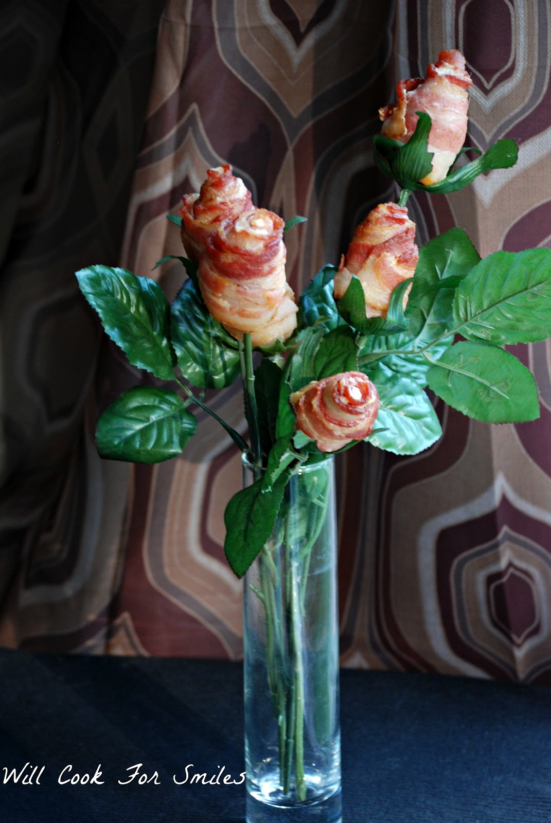 Bacon Flower Bouquet Will Cook For Smiles