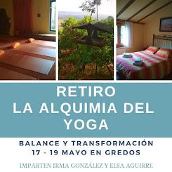 La Alquimia del Yoga. Retiro en Gredos