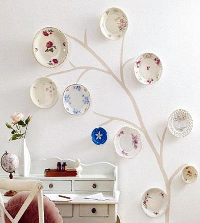 Decoraci n f cil decorar tu hogar con arboles - Objetos para decorar paredes ...