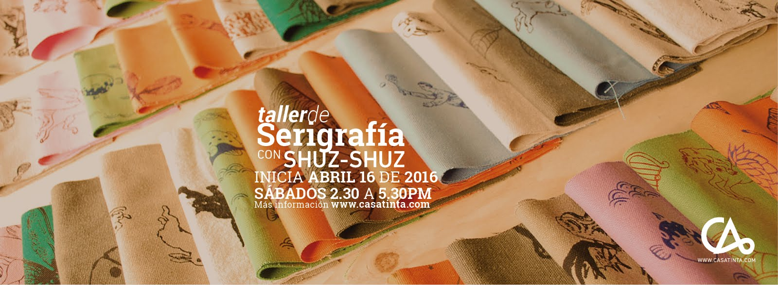 TALLER de SERIGRAFÍA / 16 de abril
