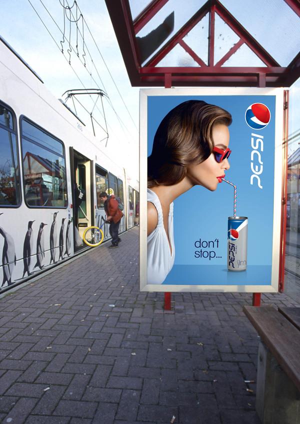 redesign da marca Pepsi