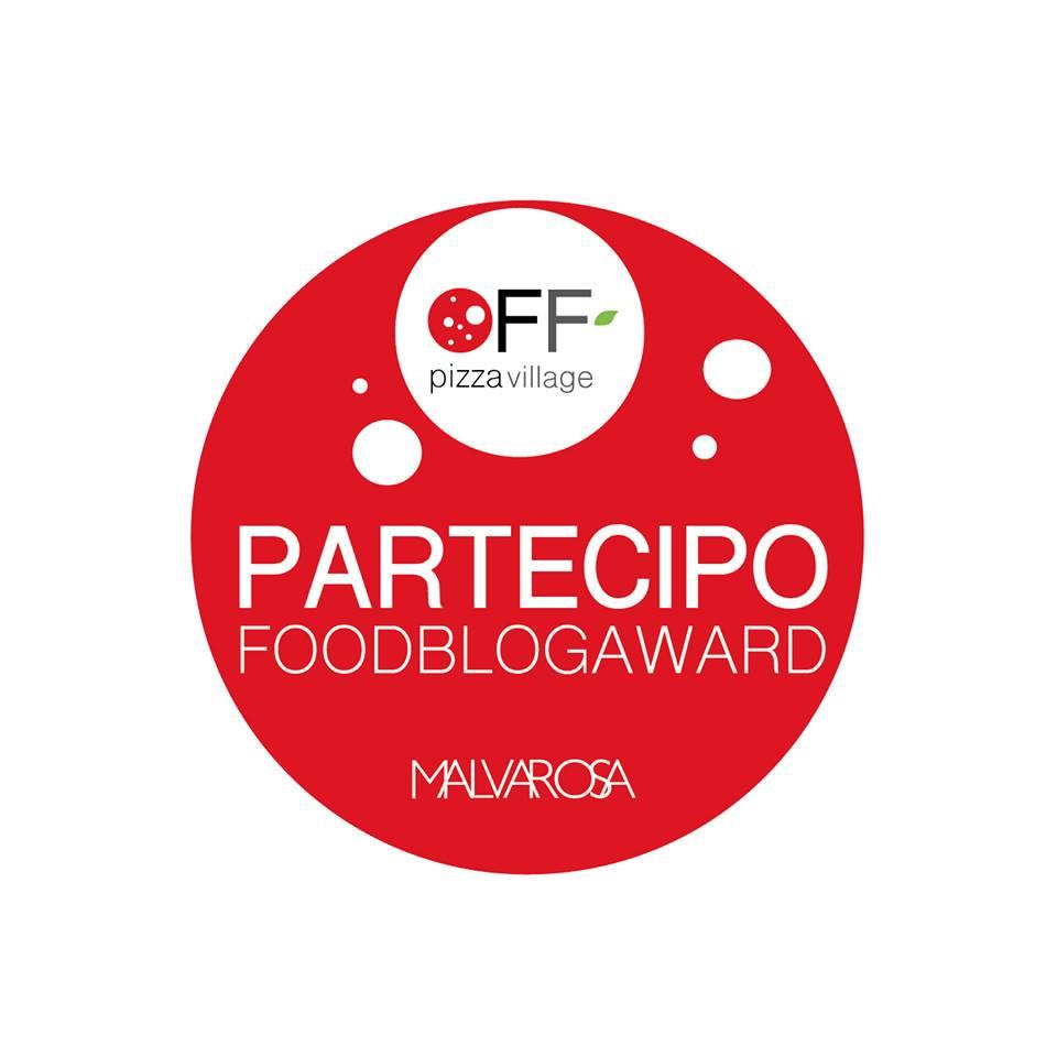 Partecipo al FoodBlogAward_OFF | PIZZA VILLAGE