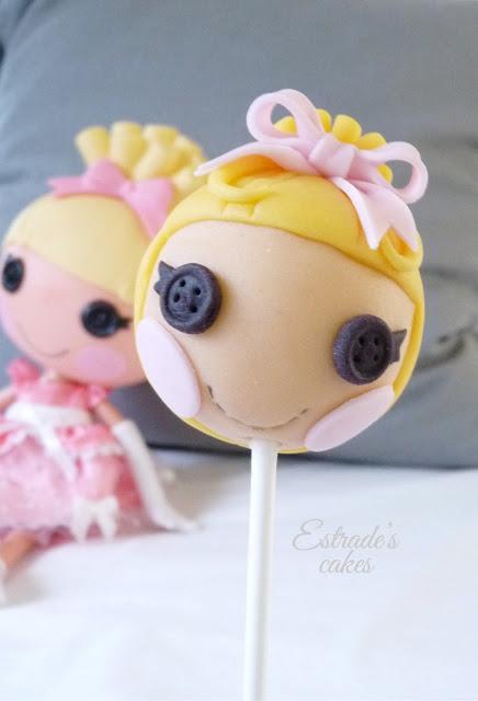 cake pop Lalaloopsy Cenicienta - 01