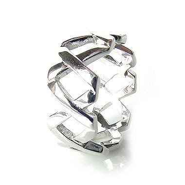 Stirling Sillver Wedding Mens Rings