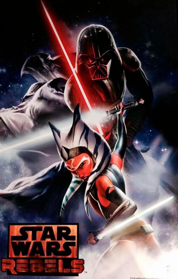 Ashoka Tano contra Darth Vader