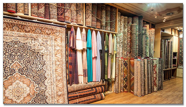 Carpets and rugs showroom in Mumbai