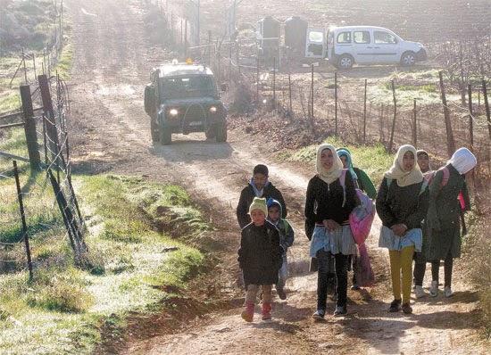 IDF protege crianças palestinas