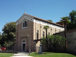 The Scrovegni Chapel houses some of Giotto's greatest work