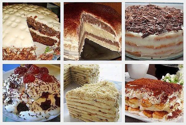 рецепт быстрых и вкусных тортов