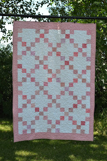 Pink Baby Quilt For Sale
