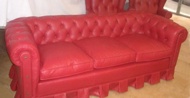 Tapicería Carrasco - Retapizado de sofá Chester