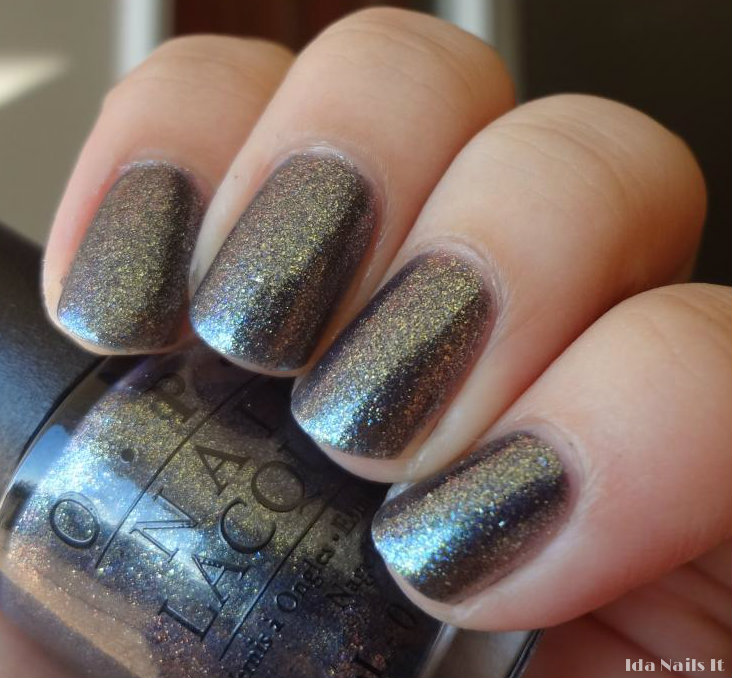 Ida Nails It: OPI Skyfall James Bond 007 collection swatches