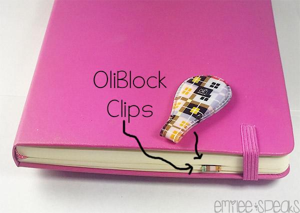 oli block clips planner