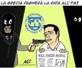 #tsipra, #fmi, euro, vignetta, satira