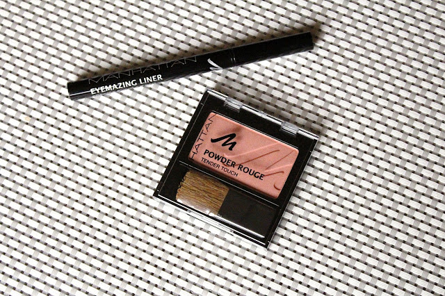 Manhattan Powder Rouge rumenilo i Eyemazing Liner