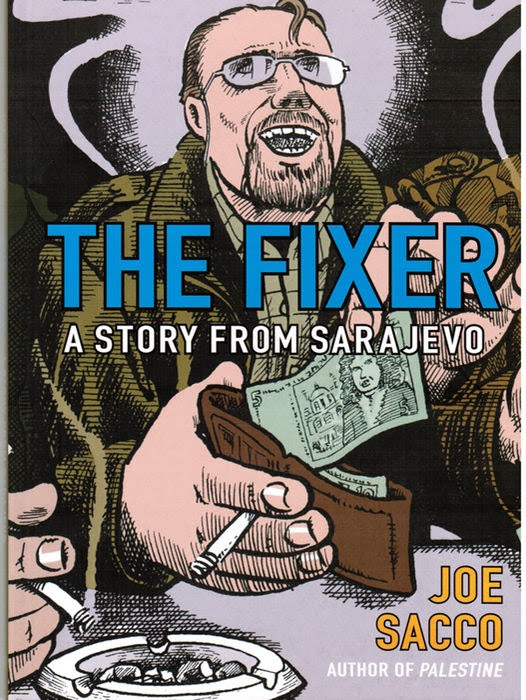 Portada de 'The Fixer' (2003), de Joe Sacco.