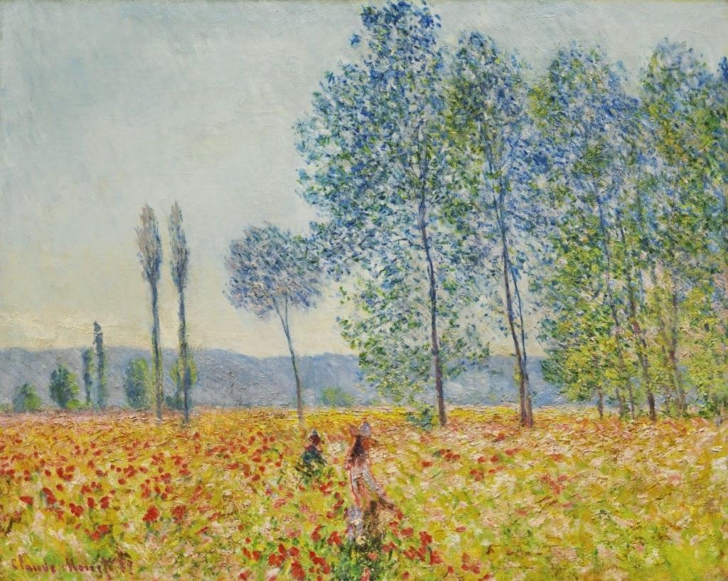 Claude Monet Sous les peupliers. 1887