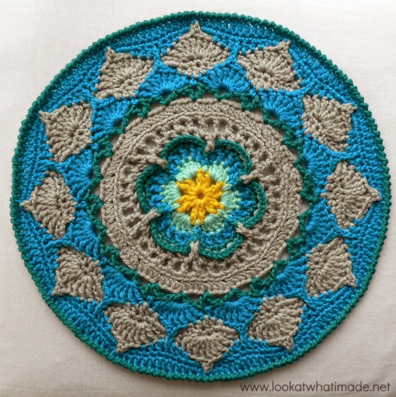 mycrochet circular grannies on Pinterest Crochet Mandala ...