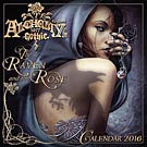 Alchemy The Raven and the Rose 2016 Wall Calendar