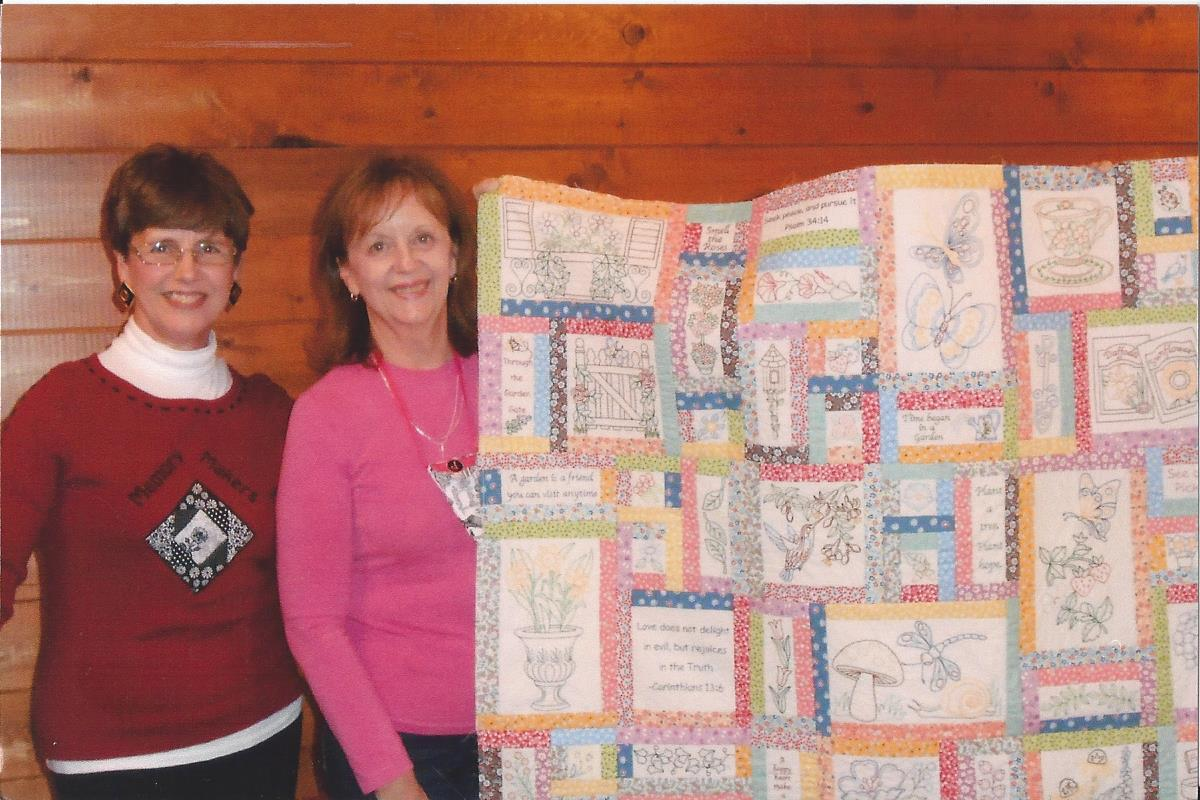 Enjoying Life's Journey: Memories from the Memory Makers Quilt ... on