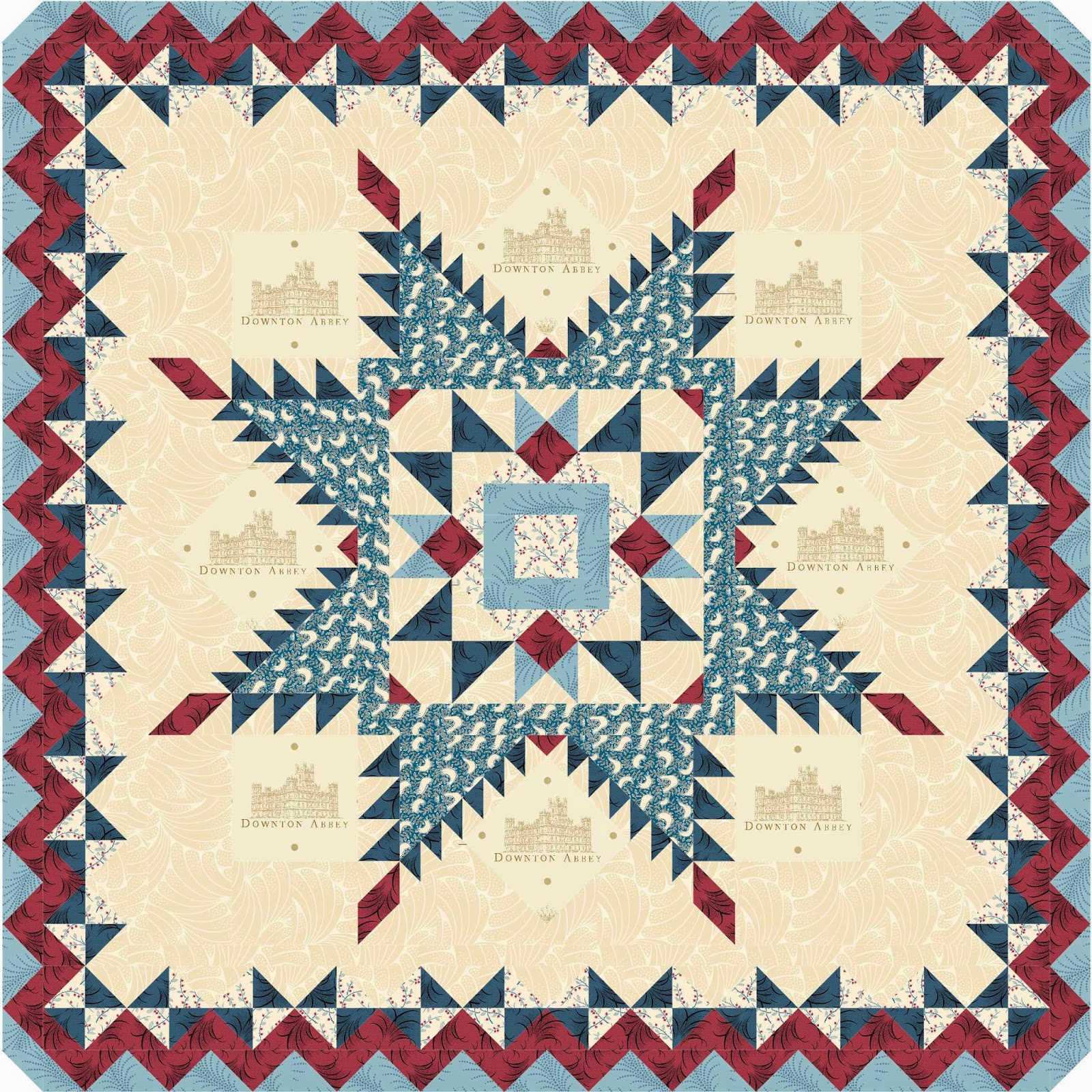 Patriotic Quilt Patterns For Free : Quilt Inspiration: Free pattern day: Patriotic and flag quilts