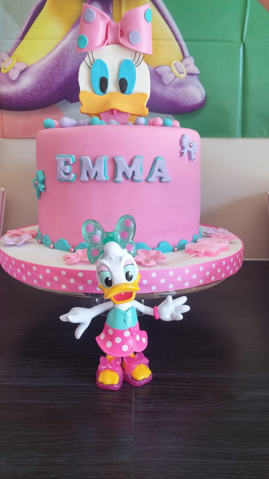Little Ones Second Birthday Party Daisy Duck Theme