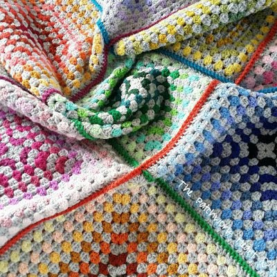 The Paintbox Blanket