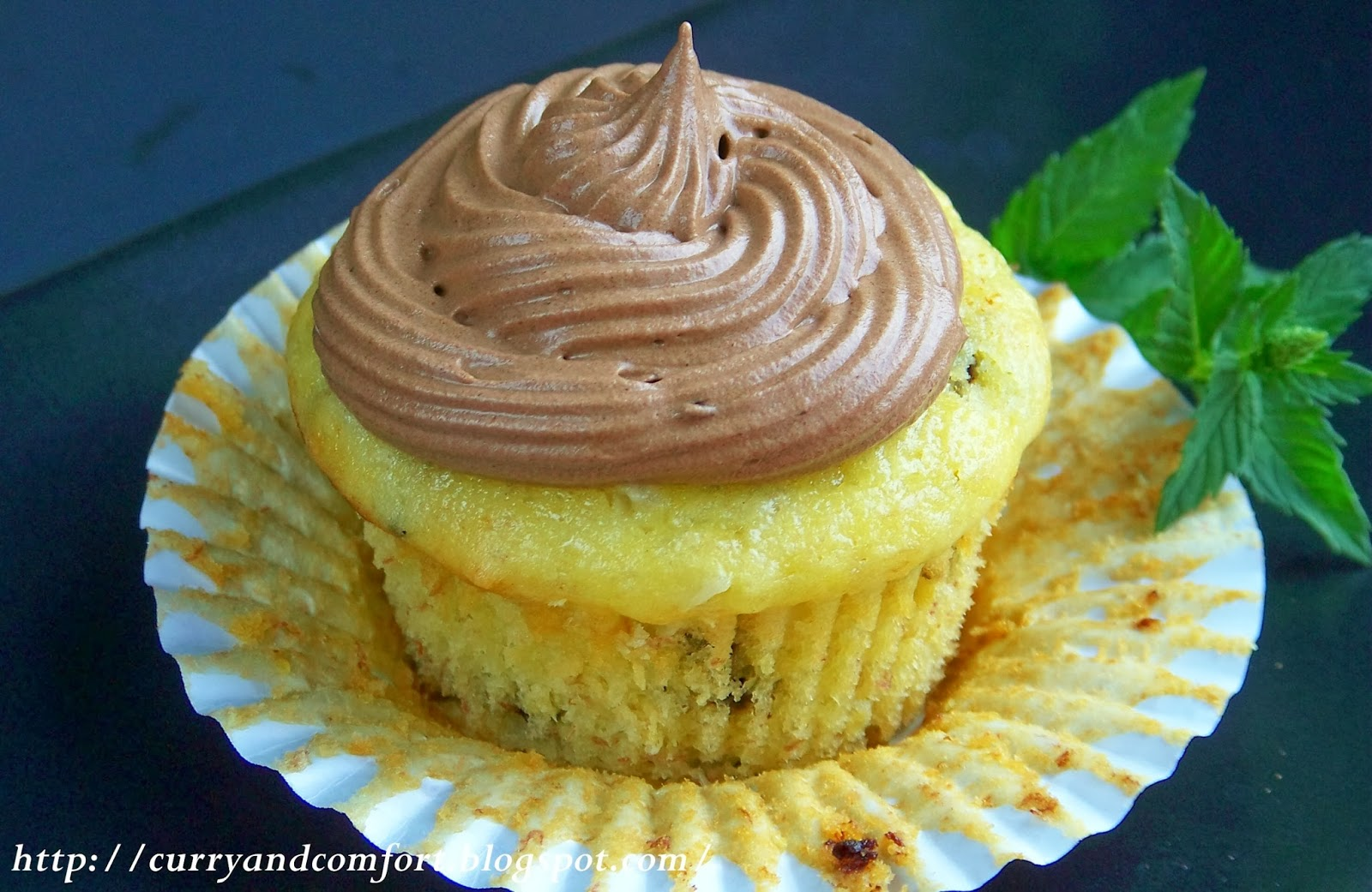 Banana Cupcakes With Chocolate And Coconut Frosting Optional