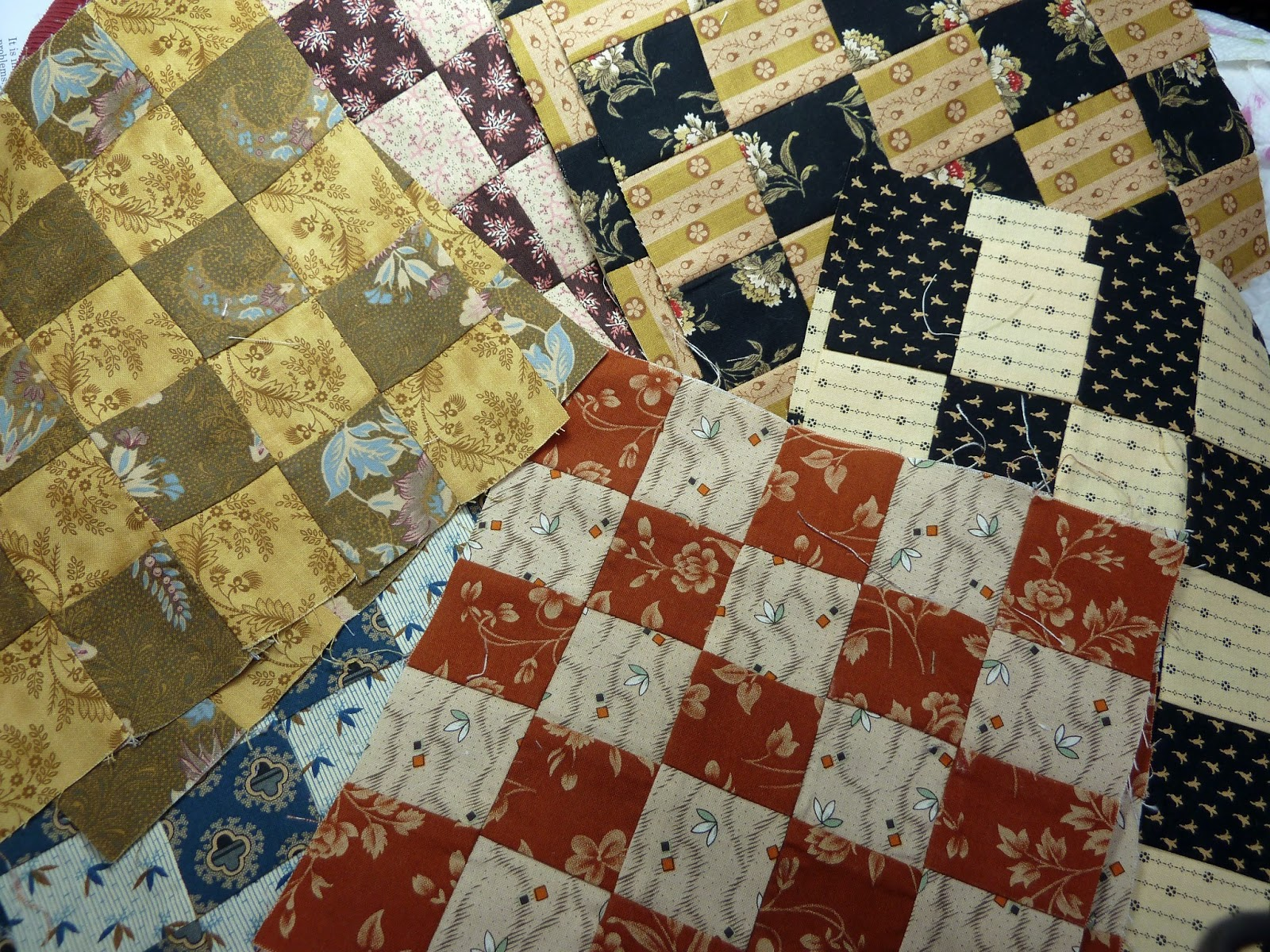 What Was I Thinking?! Too Many 25 Patch Blocks! : quilt patch management - Adamdwight.com