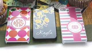 monogram personalized initial i phone cases featured on the usa today show