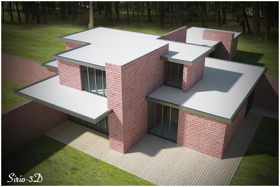 Brick House (Mies Van Der Rohe)
